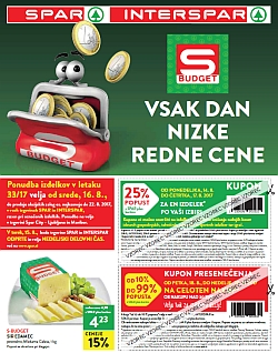 Spar in Interspar katalog do 22. 08.