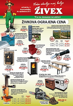 Živex katalog september 2017