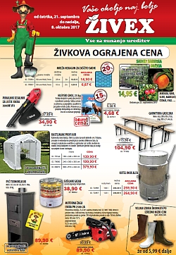 Živex katalog do 08. 10.