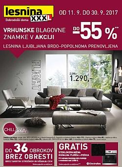 Lesnina katalog Otvoritev Ljubljana Brdo