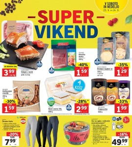 Lidl super vikend do 24. 09.