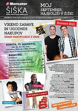 Mercator katalog Šiška do 26. 09.