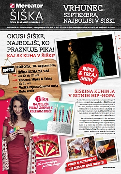 Mercator katalog Šiška do 03. 10.