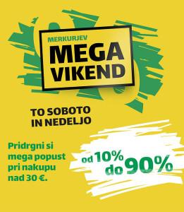 Merkur vikend akcija Izberi svoj popust do 17. 09.