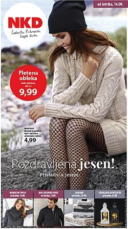 NKD katalog Pozdravljena jesen od 14. 09.