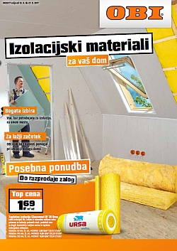 OBI katalog Izolacijski materiali do 27. 09.