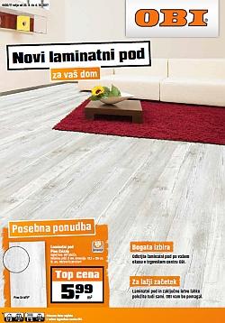 OBI katalog Laminatni pod do 04. 10.