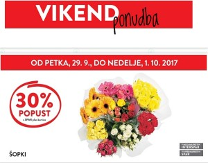 Spar in Interspar vikend akcija do 01. 10.