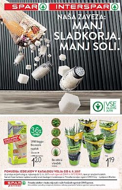 Spar in Interspar katalog Zaveza zdravemu