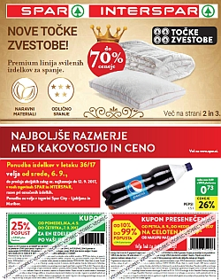 Spar in Interspar katalog do 12. 09.