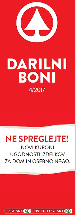 Spar in Interspar katalog Boni 04/2017