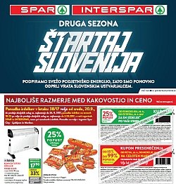 Spar in Interspar katalog do 03. 10.