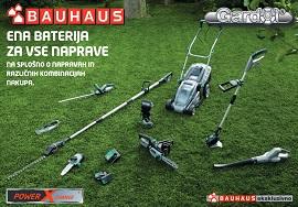 Bauhaus katalog PowerXchange ena baterija za vse naprave