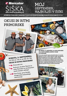 Mercator katalog Šiška september