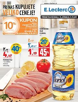 E Leclerc katalog Maribor do 15. 10.