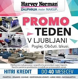 Harvey Norman katalog Promo teden Ljubljana