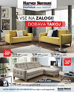 Harvey Norman katalog do 31. 10.