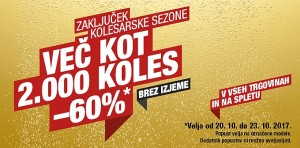 Hervis vikend akcija koles do 23. 10.