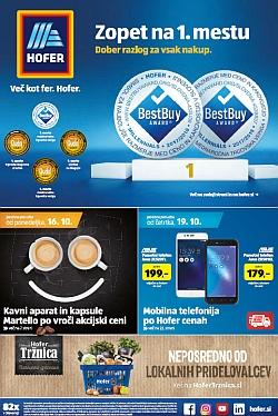 Hofer katalog od 16. 10. in od 19. 10.