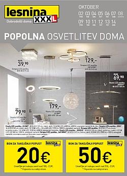 Lesnina katalog Svetila do 14. 10.