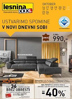 Lesnina katalog Dnevne sobe do 24. 10.