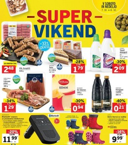 Lidl super vikend do 08. 10.