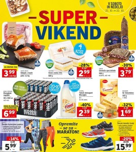 Lidl super vikend do 22. 10.