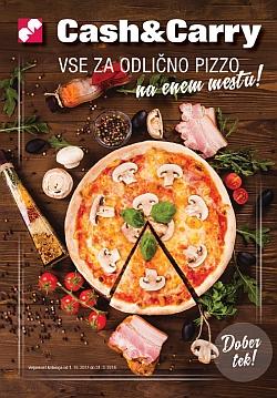 Mercator katalog Cash & Carry Vse za pizzo