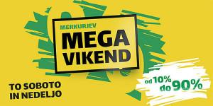 Merkur vikend akcija Izberi svoj popust do 08. 10.