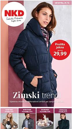 NKD katalog Zimski trendi od 26. 10.