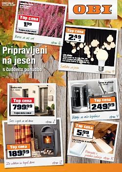 OBI katalog Pripravljeni na jesen do 04. 10.