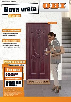 OBI katalog Nova vrata do 18. 10.