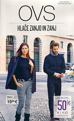 OVS katalog Hlače zanjo in zanj do 24. 10.
