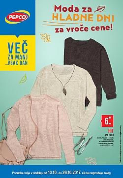 Pepco katalog Moda za hladne dni do 26. 10.