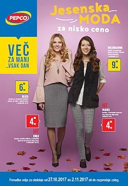 Pepco katalog Jesenska moda do 02. 11.