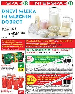 Spar in Interspar katalog do 24. 10.