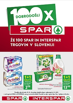 Spar in Interspar katalog Dobrodošli do 02. 11.