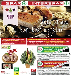 Spar in Interspar katalog do 07. 11.
