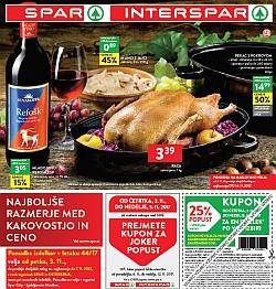 Spar in Interspar katalog do 07. 11.