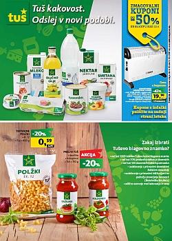 Tuš katalog Lastne blagovne znamke do 09. 10.
