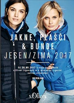 s.Oliver katalog Jakne in bunde jesen zima 2017