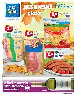 Eurospin katalog do 22. 11.
