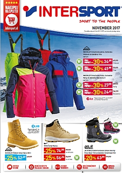 Intersport katalog november 2017