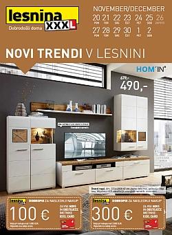 Lesnina katalog Novi trendi pohištvo