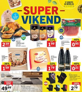 Lidl super vikend do 12. 11.