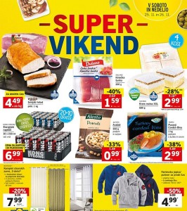 Lidl super vikend do 26. 11.