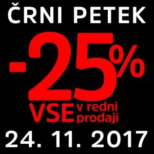 Mana Črni petek – 25 % na vse 24. 11.