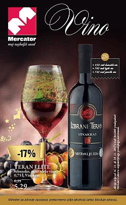Mercator katalog Vino do 28. 11.