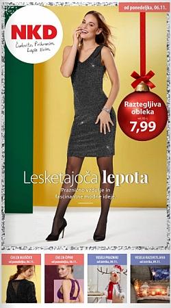 NKD katalog Lesketajoča lepota od 06. 11.