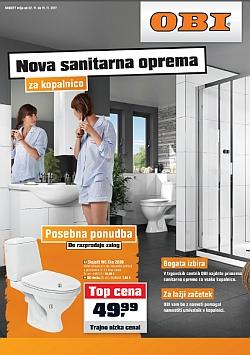 OBI katalog Nova sanitarna oprema